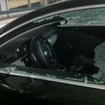 jaguar vandalized