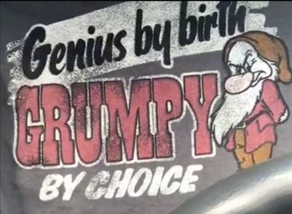 Genius by Birth, Grumpy by Choice
