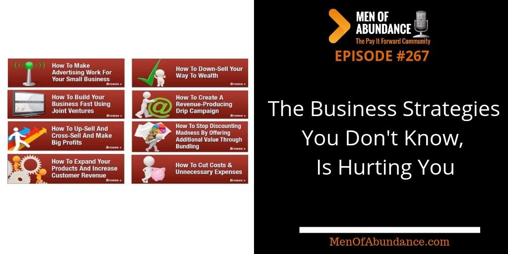The Business Strategies You Don't Know, Is Hurting You